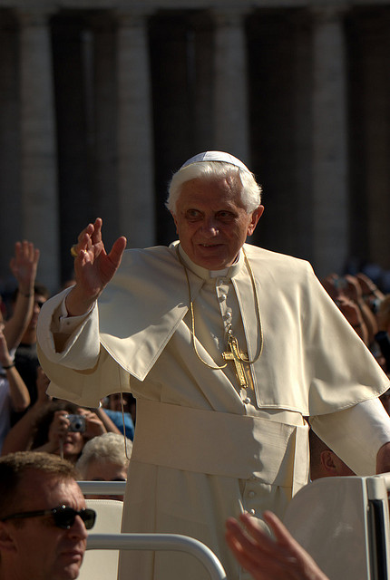 Pope Benedict XVI stepping down from leadership